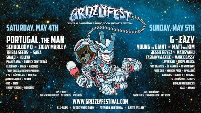 May 4 & 5:  Grizzlyfest