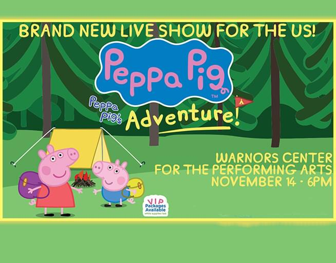Win Tickets to  Peppa Pig Live! Peppa's Adventure