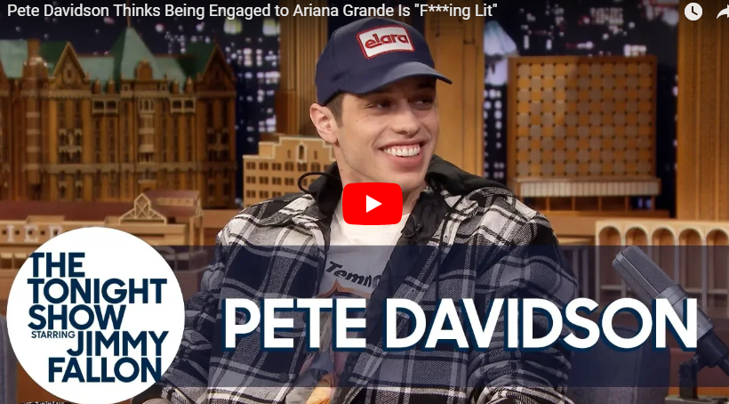 "Pete Davidson on ""The Tonight Show"""