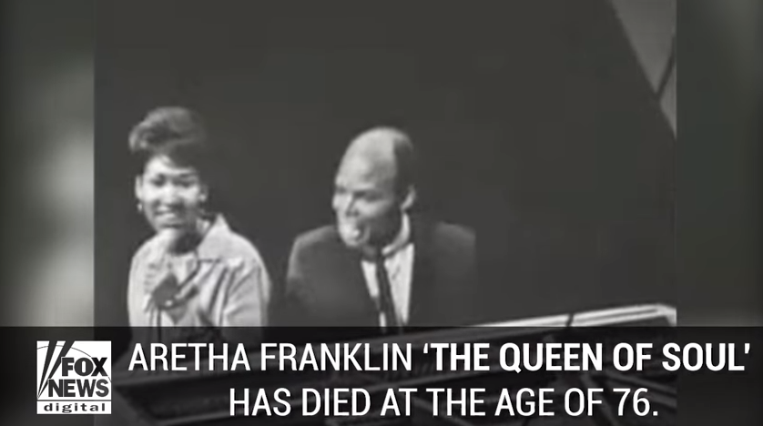 'Queen of Soul' died at 76. Aretha Franklin