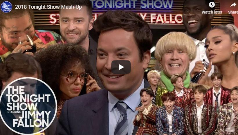 This 'Jimmy Fallon' Mash Up is Life