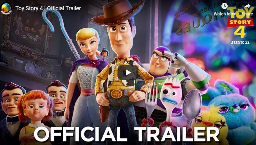 WATCH: 'Toy Story 4' Trailer