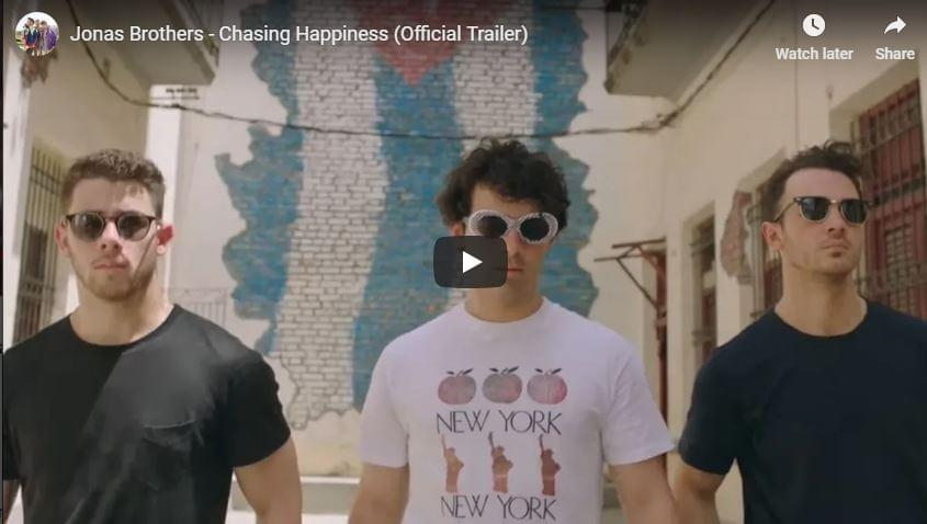 WATCH: Jonas Brothers – Chasing Happiness (Official Trailer)