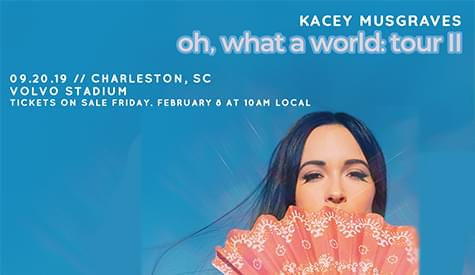 Win tickets to see Kacey Musgraves!