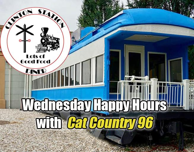 Join Cat Country 96 For Wednesday Happy Hours At Clinton Station Diner