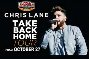 Cat Country 96 Welcomes Chris Lane to the Sherman Theatre in Stroudsburg