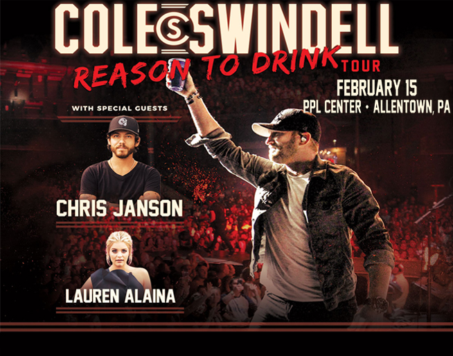 Cat Country 96 Presents Cole Swindell at the PPL Center