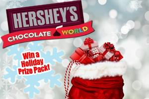 Win a Prize Pack to Hershey's Chocolate World!
