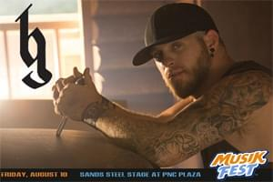 CAT Country 96 Welcomes Brantley Gilbert to Musikfest