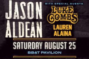 Cat Country 96 Welcomes Jason Aldean to the BB&T Pavilion