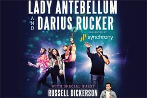 Cat Country 96 Welcomes Lady Antebellum and Darius Rucker to the BB&T Pavilion