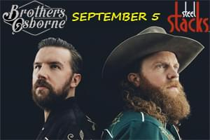 Cat Country 96 Presents Brothers Osborne at Levitt Pavilion at Steel Stacks