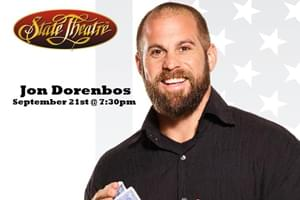 An Evening with Jon Dorenbos: Magic, Football & Comedy