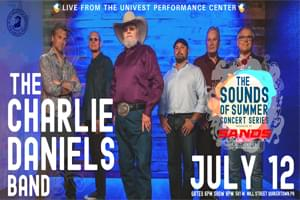 Charlie Daniels Band Coming to Univest!