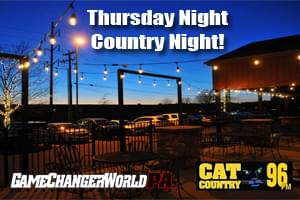 Thursday Country Nights at Game Changer World!