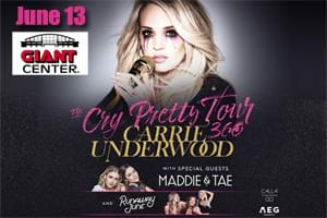 Cat Country 96 Welcomes Carrie Underwood to Hershey