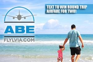 Text To Win Round Trip Airfare for Two from LVIA and Allegiant Air