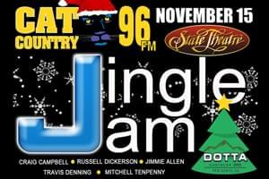 Cat Country 96 Jingle Jam at the State Theatre November 15