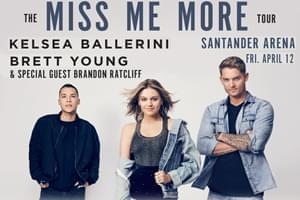 Kelsea Ballerini & Brett Young at the Santander Arena April 12