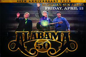 Alabama at the Mohegan Sun Arena April 12
