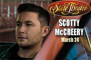 Scotty McCreery at the State Theatre March 24