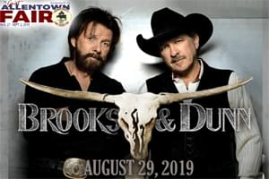 Cat Country 96 Presents Brooks & Dunn at the Great Allentown Fair