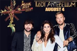 Cat Country 96 Presents Lady Antebellum at Musikfest 2019