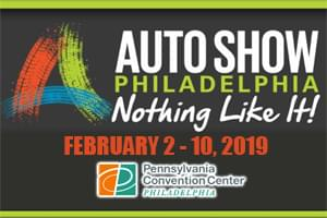Win Passes to the 2019 Philly Auto Show