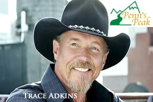 Trace Adkins at Penn's Peak June 21