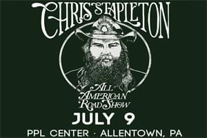 Cat Country 96 PRESENTS Chris Stapleton at the PPL Center July 9