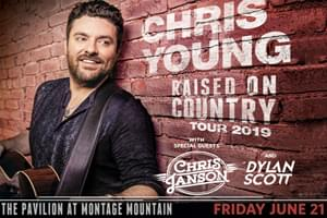 Chris Young at The Pavilion at Montage Mountain on  June 21