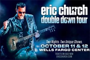 Cat Country 96 Welcomes Eric Church to the Wells Fargo Center