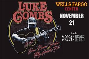 Luke Combs at The Wells Fargo Center November 21