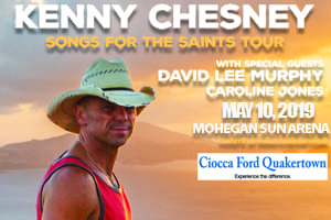 Text to Win Tickets to the SOLD OUT Kenny Chesney Show at Mohegan Sun Arena