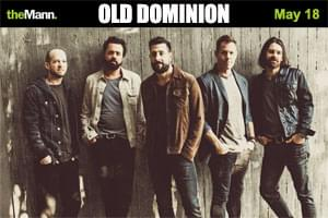 Cat Country 96 Welcomes Old Dominion to the Mann Center in Philly