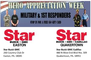 Star Buick GMC Hero Appreciation Event