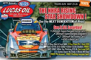 Win Tickets to Lucas Oil Drag Race Series at Maple Grove