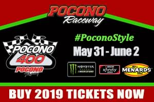 Win Ticket to the Pocono 400