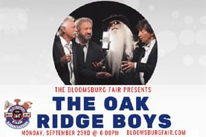 Cat Country 96 Welcome the Oak Ridge Boys to the Bloomsburg Fair