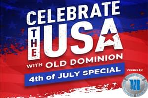 Celebrate the USA with Old Dominion 4th of July Holiday Special