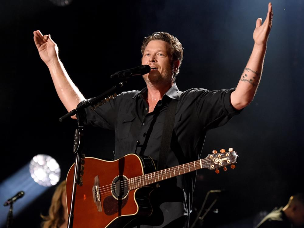 "Blake Shelton Scores 26th No. 1 Single With ""God's Country"""