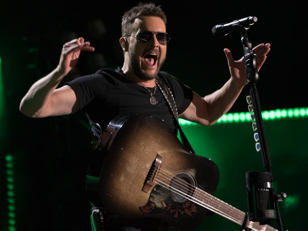 "Eric Church Tops Country Charts With ""Some of It"""