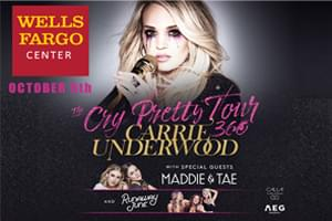 Cat Country 96 Welcomes Carrie Underwood to the Wells Fargo Center