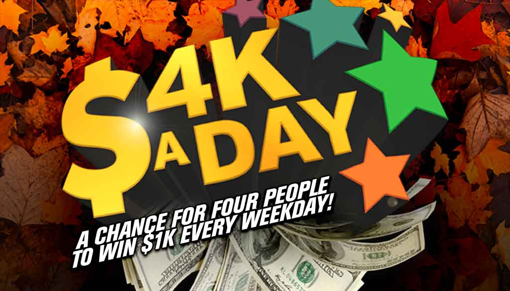 4k Fall – 4k a Day