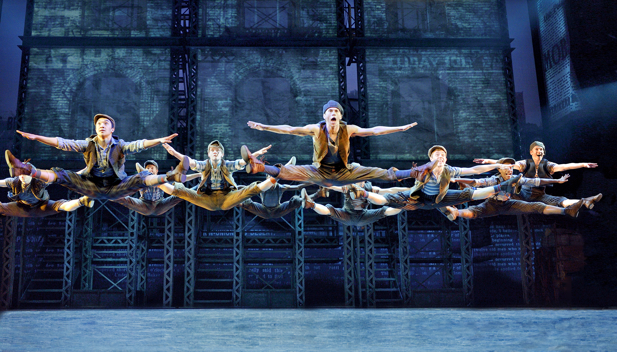 "Disney's ""Newsies"" brings extra, extra talent to PPAC"