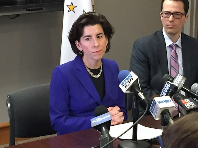 Raimondo faces tough re-election in Rhode Island