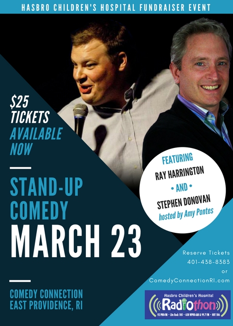 EVENT: A Night of Stand-Up Comedy to benefit Hasbro Children's Hospital