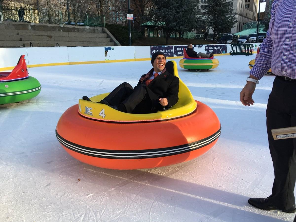 Bumper Cars On Ice Prove More Popular Than Expected Wpro