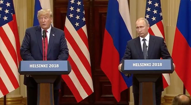 Trump/Putin Summit: Trump sees 'no reason' why Russia would meddle
