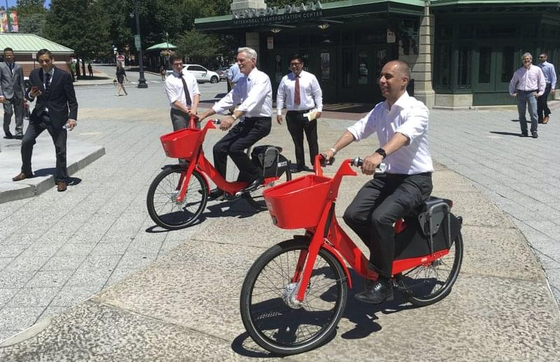 Bike-sharing program gears up in Providence